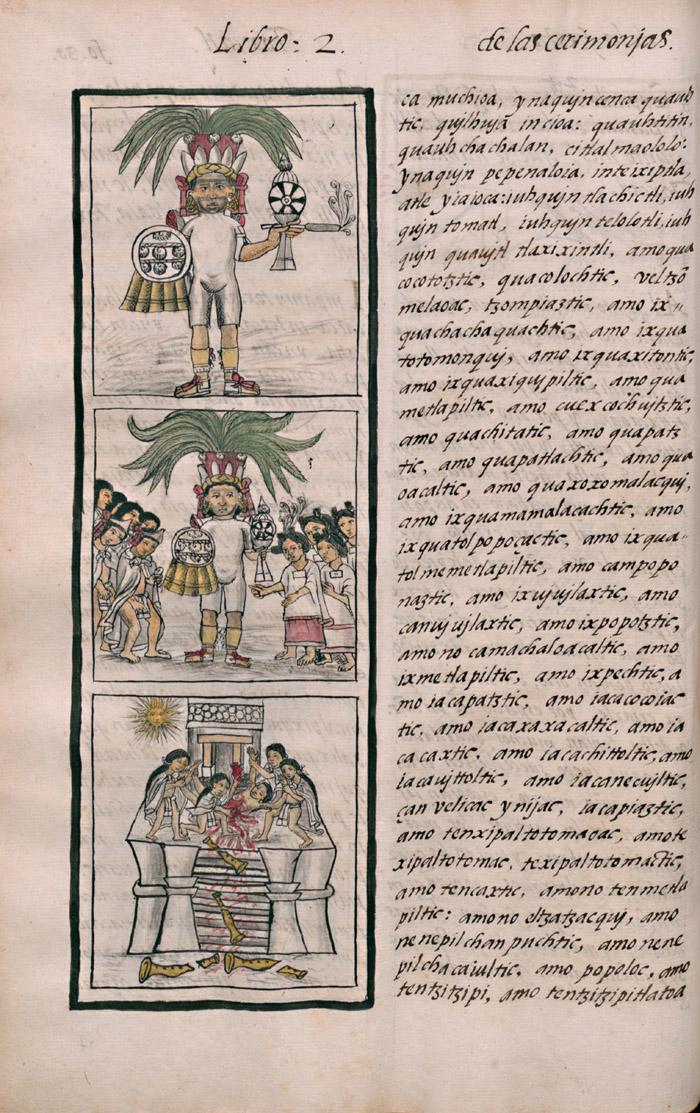 """""""Historia General de las Cosas de Nueva España""""di Fr. Bernardino di Sahagún inserita nel Registro Internazionale della Memoria del Mondo dell'UNESCO 1"""