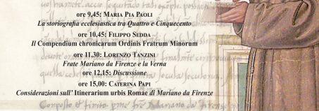L'opera storico-agiogra ca di frate Mariano da Firenze