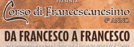 Scuola di francescanesimo - IV edizione