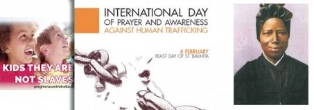 Giornata Internazionale di Preghiera e di Riflessione contro la Tratta di Esseri Umani