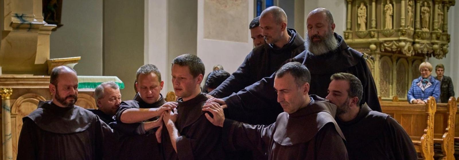 Professione perpetua di fr. Adomas e visita fraterna alla Provincia lituana