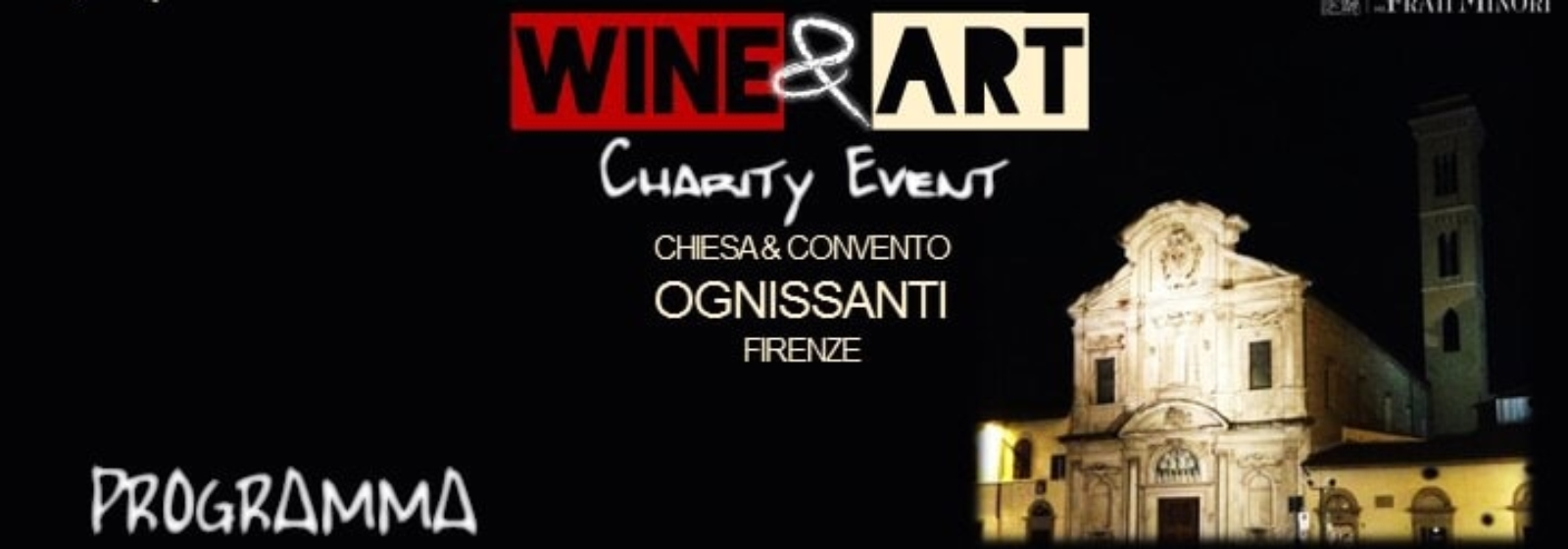 Wine & Art - Charity Event, Chiesa di Ognissanti - Firenze 1