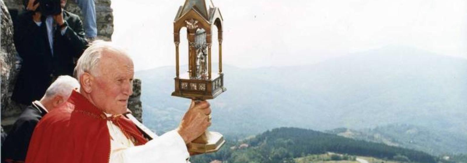 San Giovanni Paolo II Pellegrino alla Verna, 1993-2018