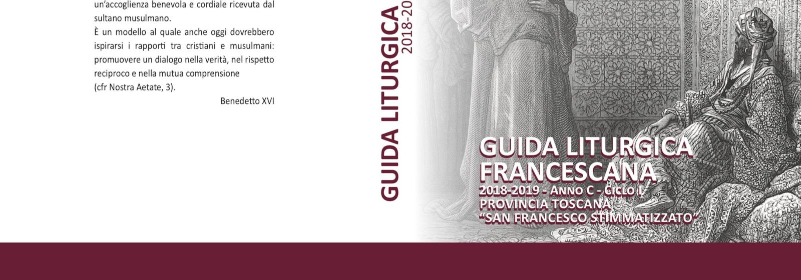 Guida liturgica francescana della Toscana 2018-2019