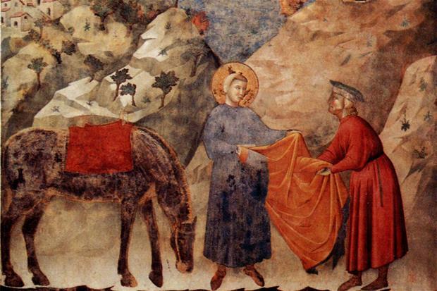 La nudità di San Francesco