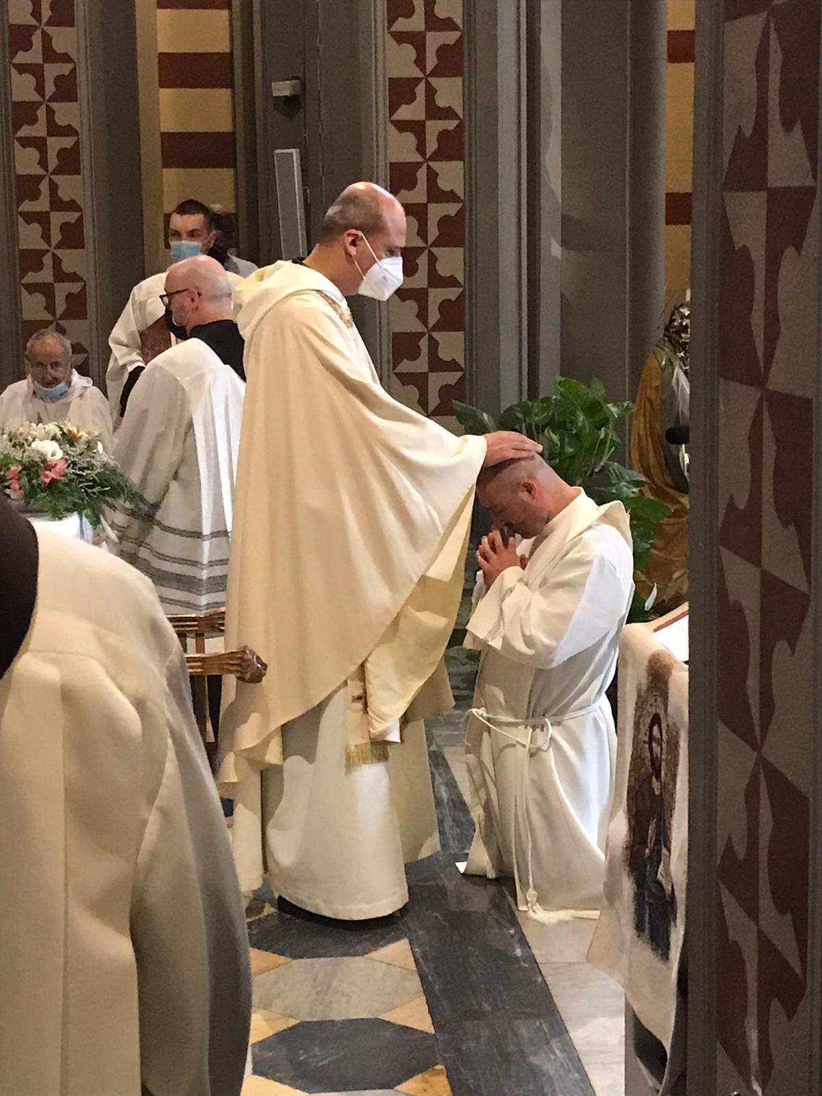 Ordinazione presbiterale di fr. Andrea Polverino 1