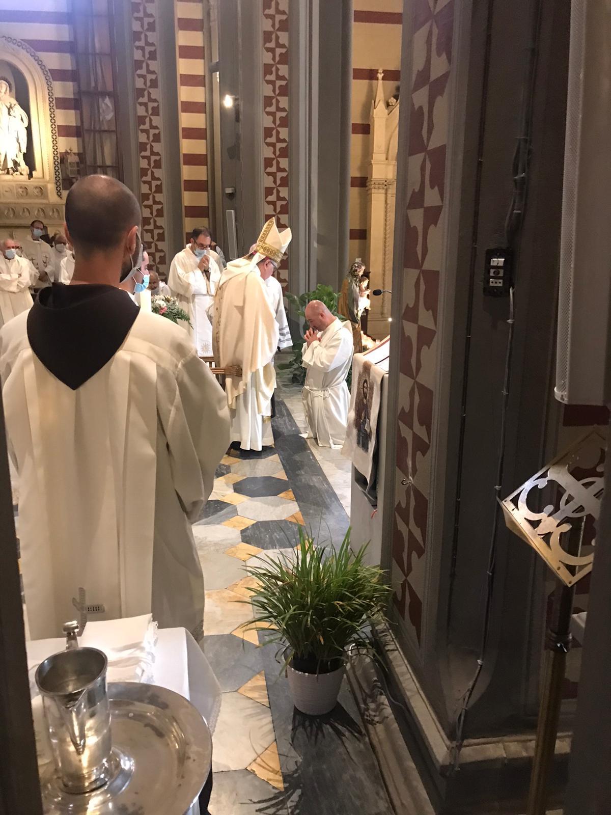 Ordinazione presbiterale di fr. Andrea Polverino 2